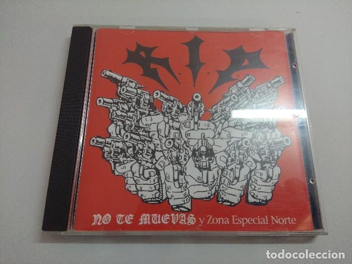 CD PUNK/RIP/NO TE MUEVAS Y ZONA ESPECIAL NORTE. (Música - CD's Heavy Metal)