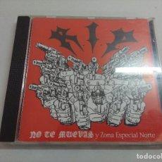 CDs de Música: CD PUNK/RIP/NO TE MUEVAS Y ZONA ESPECIAL NORTE.. Lote 221985146