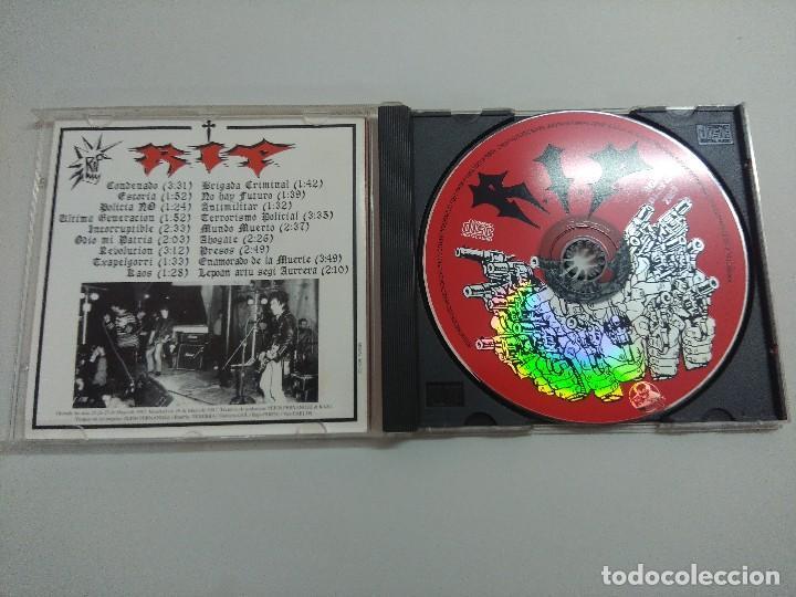 CDs de Música: CD PUNK/RIP/NO TE MUEVAS Y ZONA ESPECIAL NORTE. - Foto 2 - 221985146
