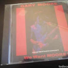 CDs de Música: GARY MOORE - WE WANT MOORE! CD LIVE. Lote 221993863