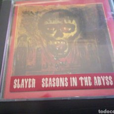 CDs de Música: SLAYER - SEASONS IN THE ABYSS CD. Lote 221994710