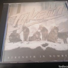 CDs de Música: TYKETTO - STRENGTH IN NUMBERS CD. Lote 222004413