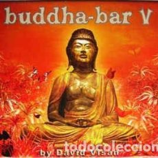 CDs de Música: DAVID VISAN - BUDDHA-BAR V (2XCD, COMP, MIXED) LABEL:GEORGE V RECORDS, WAGRAM MUSIC CAT#: 3082472. Lote 222006820