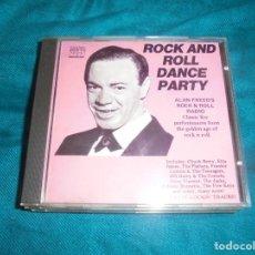 CDs de Música: ROCK AND ROLL DANCE PARTY. ALAN FREED´S ROCK´N´ROLL RADIO. CD IMPECABLE (#). Lote 222007035