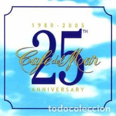 CDs de Música: VARIOUS - CAFÉ DEL MAR - 25TH ANNIVERSARY (1980-2005) (3XCD, COMP) LABEL:CAFÉ DEL MAR MUSIC CAT#: 2. Lote 222016297