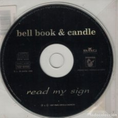 CDs de Música: BELL BOOK AND CANDLE - READ MY SING (CDSINGLE PROMO, BMG 1997)2. Lote 222018103