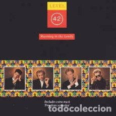 CDs de Música: LEVEL 42 - RUNNING IN THE FAMILY (CD, ALBUM) LABEL:POLYDOR CAT#: 831 593-2. Lote 222018741