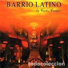CDs de Música: CARLOS CAMPOS - BARRIO LATINO (2XCD, COMP) LABEL:GEORGE V RECORDS CAT#: 3063272. Lote 222021056