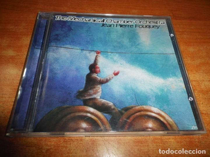 JEAN PIERRE FOUQUEY THE MECHANICAL CHAMBER ORCHESTRA CD ALBUM 1999 CONTIENE 20 TEMAS (Música - CD's Techno)