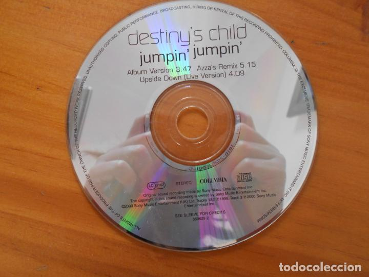 CD DESTINY'S CHILD - JUMPIN' JUMPIN' (SOLO DISCO, SIN CAJA NI PORTADA) - LEER DESCRIPCION (IK1) (Música - CD's Pop)