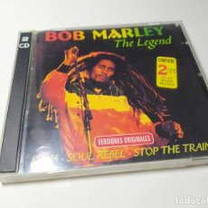 CDs de Música: CD - MUSICA - BOB MARLEY – THE LEGEND - 2CD - SPAIN. Lote 222027242