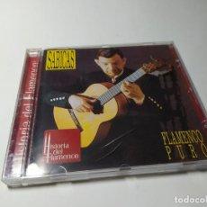 CDs de Música: CD - MUSICA - SABICAS – FLAMENCO PURO. Lote 222030855