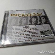 CDs de Música: CD - MUSICA - VARIOUS ?– POR CAMARÓN ( CD + DVD). Lote 222058882