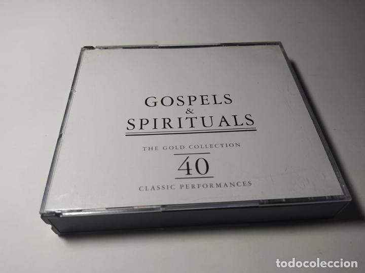 CD - MUSICA - VARIOUS ?– GOSPELS & SPIRITUALS - 2CDS (Música - CD's Jazz, Blues, Soul y Gospel)