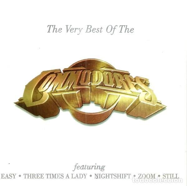 COMMODORES. THE VERY BEST OF. CD (Música - CD's Jazz, Blues, Soul y Gospel)