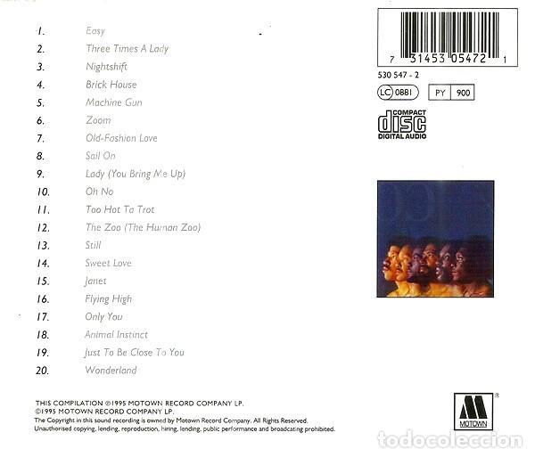 CDs de Música: COMMODORES. THE VERY BEST OF. CD - Foto 2 - 222064756