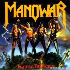 CDs de Música: MANOWAR. FIGHTING THE WORLD. CD. Lote 222066398