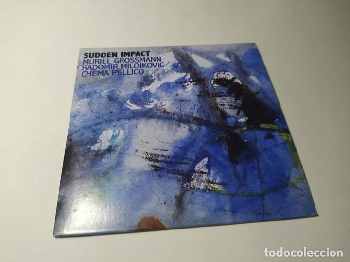 CD - MUSICA - MURIEL GROSSMANN ?– SUDDEN IMPACT (Música - CD's Jazz, Blues, Soul y Gospel)
