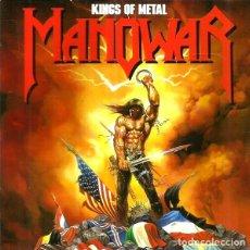 CDs de Música: MANOWAR. KINGS OF METAL. CD.. Lote 222067448