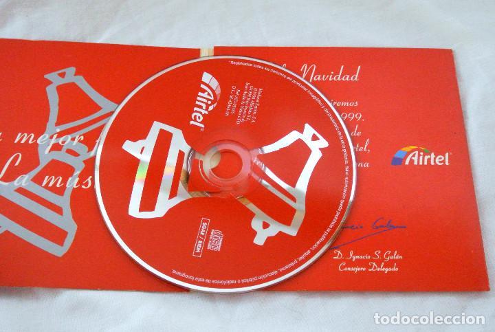CDs de Música: CD FELIZ NAVIDAD, FRANK SINATRA Y BING CROSBY RECOPILATORIO, AIRTEL EMPRESAS , MEDIASAT 1998 - Foto 3 - 222071508