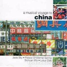 CDs de Música: YESKIM - A MUSICAL VOYAGE TO CHINA (CD, ALBUM) LABEL:VOYAGER (2) CAT#: VOY001. Lote 222072595