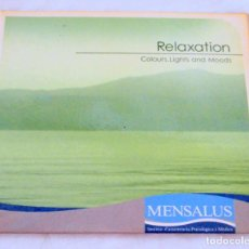 CDs de Música: CD RELAXATION COLOURS, LIGHTS AND MOODS, MENSALUS, 2006. Lote 222072815