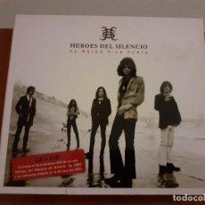 CDs de Música: EL RUIDO Y LA FURIA - HEROES DEL SILENCIO - CD Y DVD. Lote 222074067