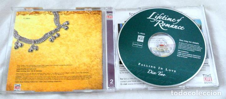 CDs de Música: CD LIFE TIME OF ROMANCE, BE MY LOVE, FALLING IN LOVE CD 2, TIME LIFE MUSIC, 2004, TL LRS/01 - Foto 2 - 222074186