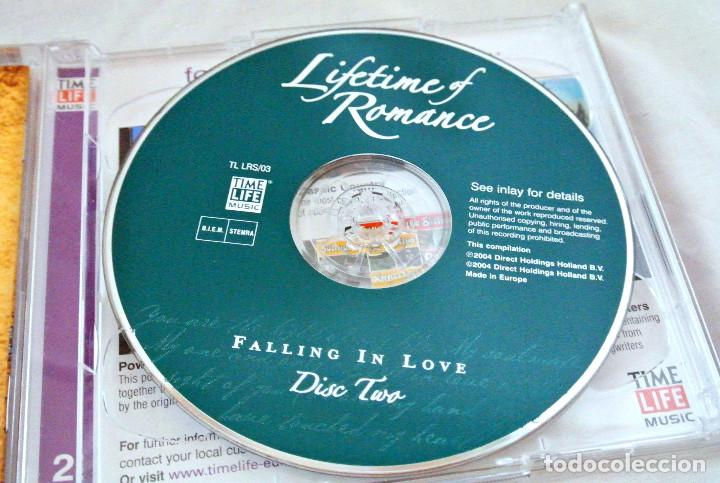 CDs de Música: CD LIFE TIME OF ROMANCE, BE MY LOVE, FALLING IN LOVE CD 2, TIME LIFE MUSIC, 2004, TL LRS/01 - Foto 3 - 222074186