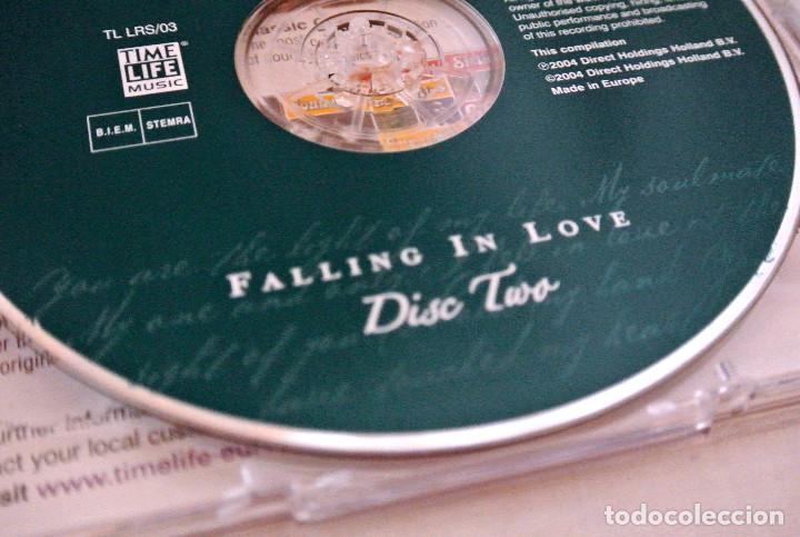 CDs de Música: CD LIFE TIME OF ROMANCE, BE MY LOVE, FALLING IN LOVE CD 2, TIME LIFE MUSIC, 2004, TL LRS/01 - Foto 5 - 222074186