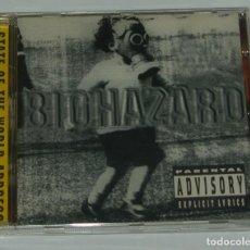 CDs de Música: BIOHAZARD / STATE OF THE WORLD ADDRESS. Lote 222080410