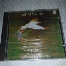 CDs de Música: ASKATASUNA CD PEDRO UGARTE DUO AMARA TRIKI PHILIPS. Lote 222083907