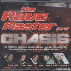 CDs de Música: THE RAVE MASTER LIVE AT CHASIS 3 CD'S 2007. Lote 222085448