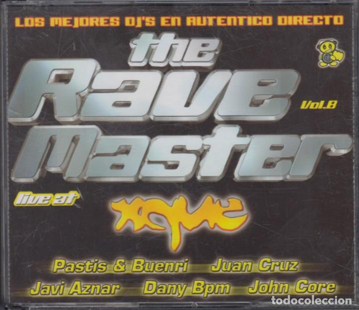 THE RAVE MASTER LIVE AT XQUE 3 CD'S 2005 (Música - CD's Techno)