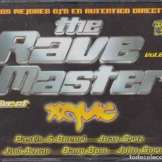 CDs de Música: THE RAVE MASTER LIVE AT XQUE 3 CD'S 2005. Lote 222085931