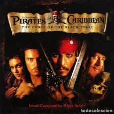 CDs de Música: PIRATES OF THE CARIBBEAN: THE CURSE OF THE BLACK PEARL / KLAUS BADELT CD BSO. Lote 222085961
