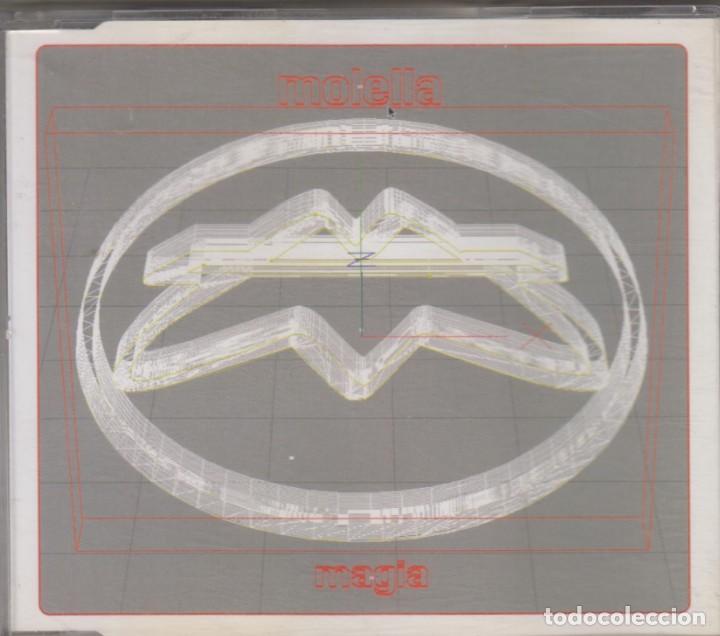 MOLELLA CD MAXI MAGIA 2002 ITALY 4 TRACKS (Música - CD's Techno)