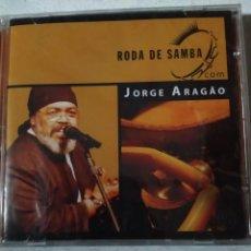 CDs de Música: JORGE ARAGÃO ?– RODA DE SAMBA RODA DE SAMBA CD NUEVO SOM LIVREBRAZIL MPB. Lote 222086872