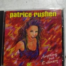 CDs de Música: PATRICE RUSHEN - ANYTHING BUT ORDINARY CD. Lote 222087101