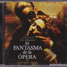 CDs de Musique: EL FANTASMA DE LA ÓPERA / ANDREW LLOYD WEBBER CD BSO (EN ESPAÑOL). Lote 222087211