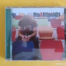 CDs de Música: FITO & FITIPALDIS - POR LA BOCA VIVE EL PEZ MUSICA CD. Lote 222087246