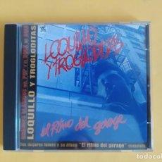 CDs de Música: LOQUILLO Y TROGLODITAS - EL RITMO DEL GARAJE EDICION ESPECIAL MUSICA CD. Lote 222087425