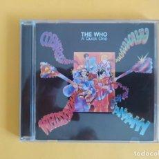 CDs de Música: THE WHO - A QUICK ONE MUSICA CD. Lote 222087965