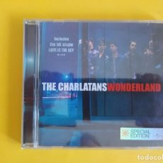 CDs de Música: THE CHARLATANS - WONDERLAND EDICION ESPECIAL MUSICA CD. Lote 222088332