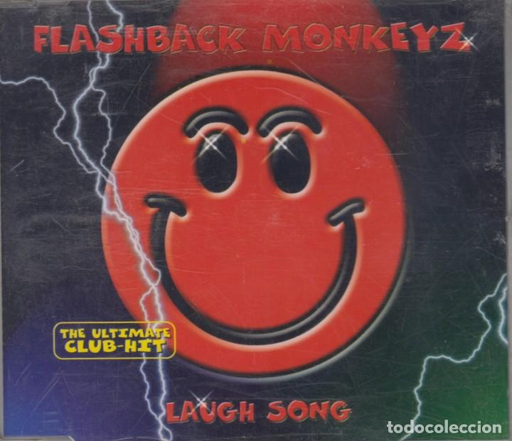FLASHBACK MONKEYZ CD MAXI LAUGH SONG 1999 6 TRACKS (Música - CD's Techno)