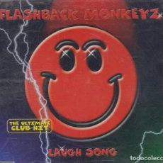 CDs de Música: FLASHBACK MONKEYZ CD MAXI LAUGH SONG 1999 6 TRACKS. Lote 222088701