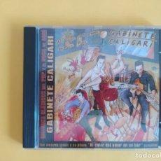 CDs de Música: GABINETE CALIGARI - AL CALOR DEL AMOR EN UN BAR EDICION ESPECIAL MUSICA CD. Lote 222088761