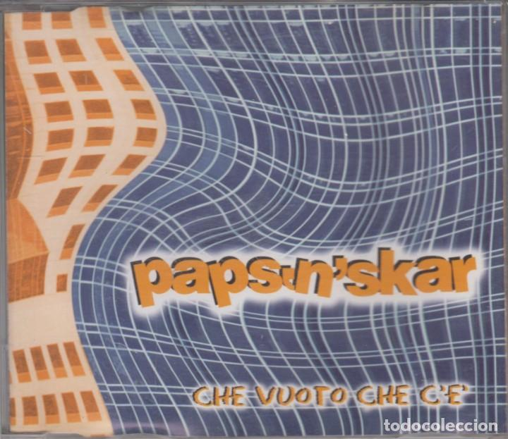 PAPS'N'SKAR CD MAXI CHE VUOTO CHE C'E' 2003 SPAIN 4 TRACKS (Música - CD's Techno)