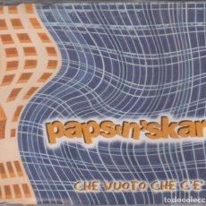 CDs de Música: PAPS'N'SKAR CD MAXI CHE VUOTO CHE C'E' 2003 SPAIN 4 TRACKS. Lote 222088788