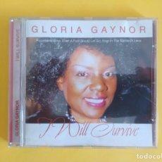 CDs de Música: GLORIA GAYNOR - I WILL SURVIVE MUSICA CD. Lote 222088911